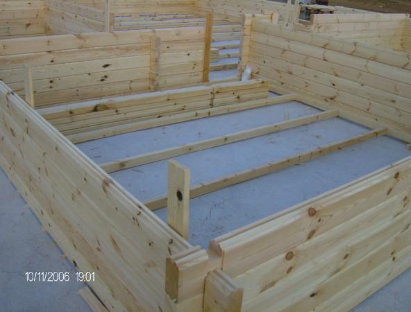 Casas de madera - Casa de la madera ...